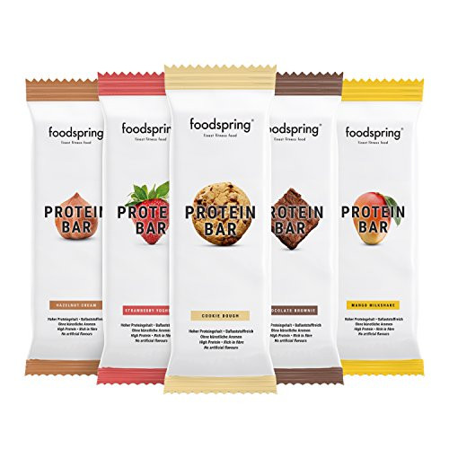 FOODSPRING PROTEIN BAR 12-PACK - www.BattleBoxUk.com