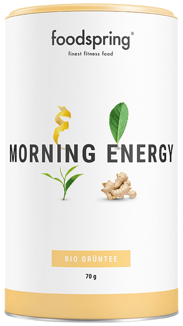 FOODSPRING | FUNCTIONAL ORGANIC TEA | MORNING ENERGY WWW.BATTLEBOXUK.COM