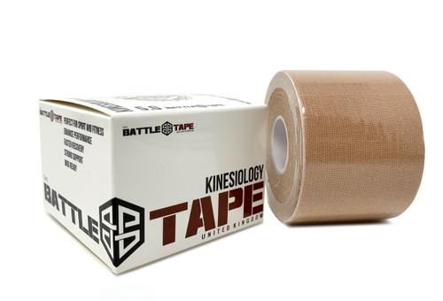 BattleTape™   Kinesiology Tape   Desert Beige - www.BattleBoxUk.com