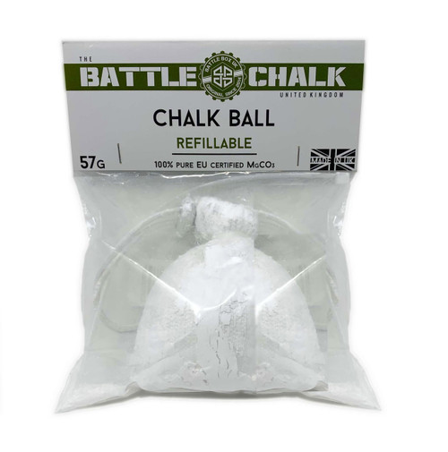 BATTLECHALK™ | Chalk Ball | Refillable | For Rock Climbing Gymnastics Gym WeightLifting www.BattleBoxUk.com