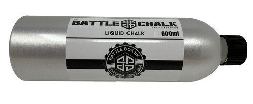 BATTLECHALK™ | 600ml Liquid Chalk Aluminium Bottle For Rock Climbing Gymnastics Gym Pole Dancing WeightLifting - www.BattleBoxUk.com