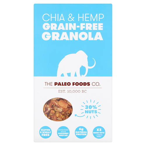 THE PALEO FOODS CO | CHAI & HEMP GRANOLA VEGAN | 300g www.battleboxuk.com