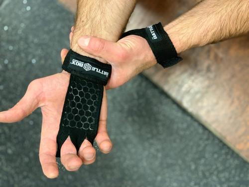 BattleBox UK™ Gymnastic Grips | Black Stealth |Limited Edition www.battleboxuk.com