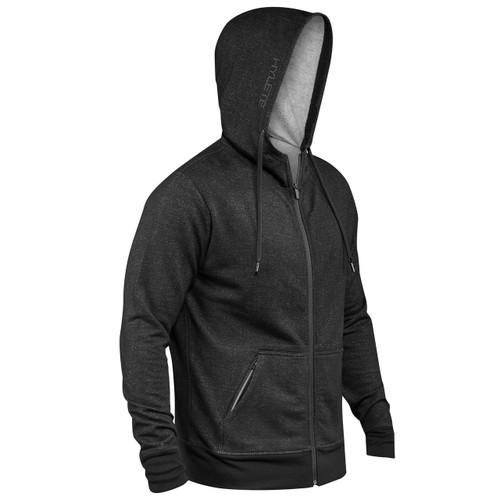 HYLETE | Linear Tech Hoodie | black/black www.battleboxuk.com