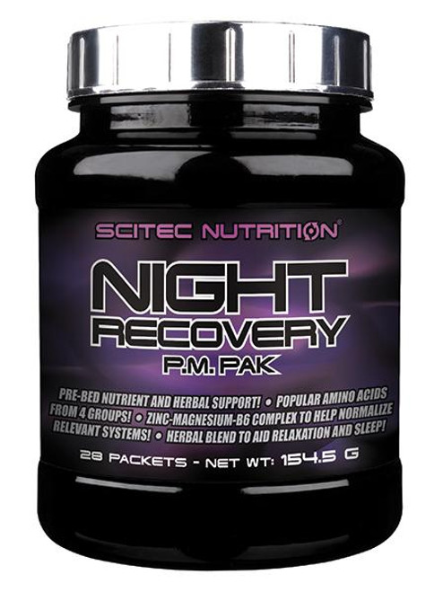 SCITEC NUTRITION | NIGHT RECOVERY WWW.BATTLEBOXUK.COM