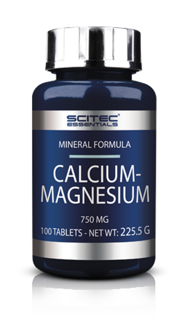 SCITEC NUTRITION | Calcium-Magnesium WWW.BATTLEBOXUK.COM