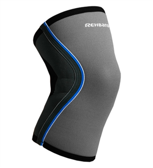Rehband Compressing Knee Support 5mm Neoprene 7751 Grey