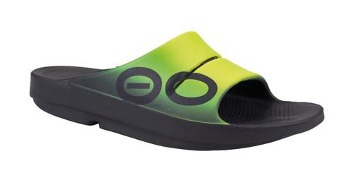 OOFOS MEN'S OOAHH SPORT Fuzion Recovery Footwear Slide In Flip Flop Sandal - www.BattleBoxUk.com