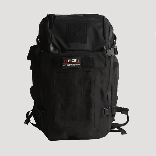 PICSIL | TACTICAL BACKPACK | BLACK WWW.BATTLEBOXUK.COM