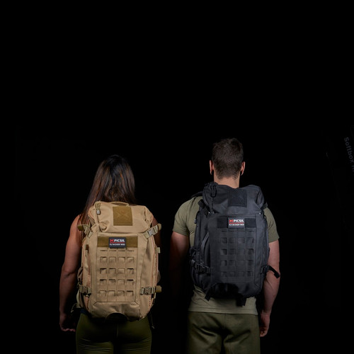 PICSIL | TACTICAL BACKPACK | BLACK WWW.BATTLEBOXUK.COM