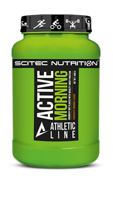 SCITEC ATHLETIC LINE | ACTIVE MORNING WWW.BATTLEBOXUK.COM