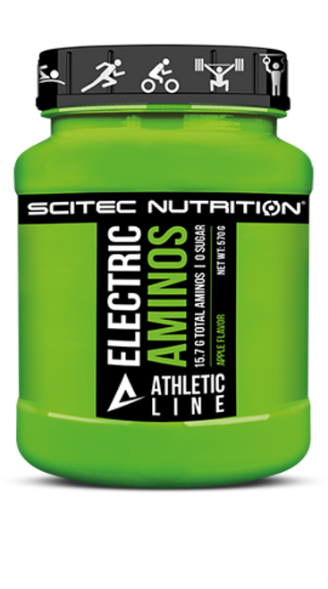 SCITEC ATHLETIC LINE | ELECTRIC AMINOS WWW.BATTLEBOXUK.COM