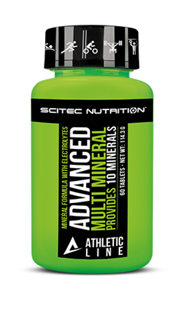 SCITEC ATHLETIC LINE | ADVANCED MULTI MINERAL  WWW.BATTLEBOXUK.COM