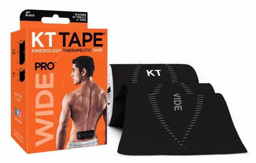 KT TAPE PRO™ WIDE BLACK (KT-022233) www.battleboxuk.com