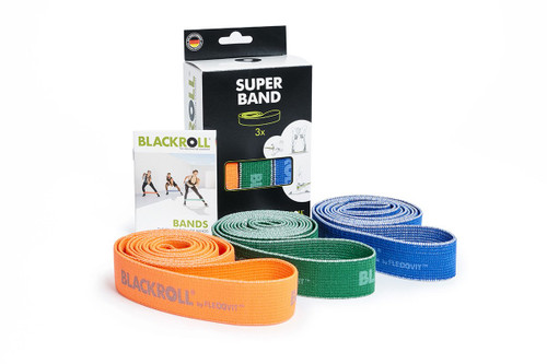 BLACKROLL® SUPER BAND | soft elastic | tear-resistant | fiberand rubber www.battleboxuk.com