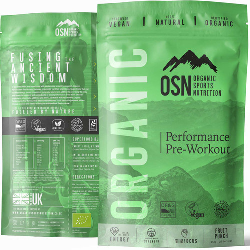 ORGANIC SPORT PERFORMANCE | PRE-WORKOUT WWW.BATTLEBOXUK.COM