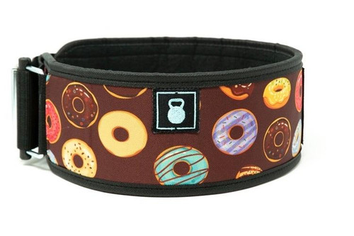 2POOD | BAKERS DOZEN STRAIGHT WEIGHTLIFTING BELT (w/ WODclamp®) WWW.BATTLEBOXUK.COM