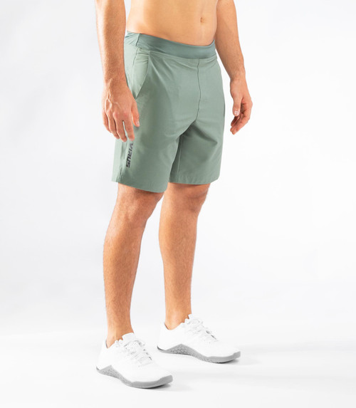 VIRUS | T10 | MEN'S RAZR SHORT | ARMY GREEN www.battleboxuk.com