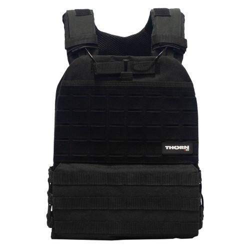 THORN+FIT | TACTICAL Weighted Training Vest Black | Various Packs 9.3kg 6.5kg 4.7kg WOD Fitness  - www.BattleBoxUk.com