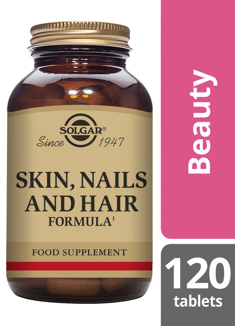 Solgar® | Skin, Nails and Hair Formula Tablets-Pack of 120 (E1736) www.battleboxuk.com
