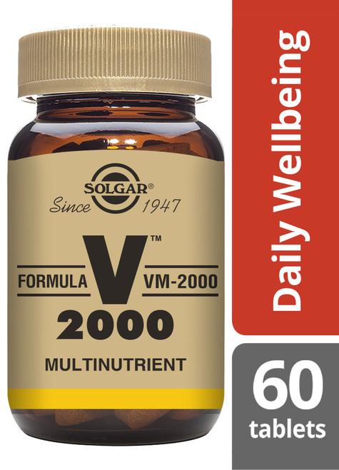 Solgar® | Formula VM-2000 ® - Pack of 60 (E1187) www.battleboxuk.com