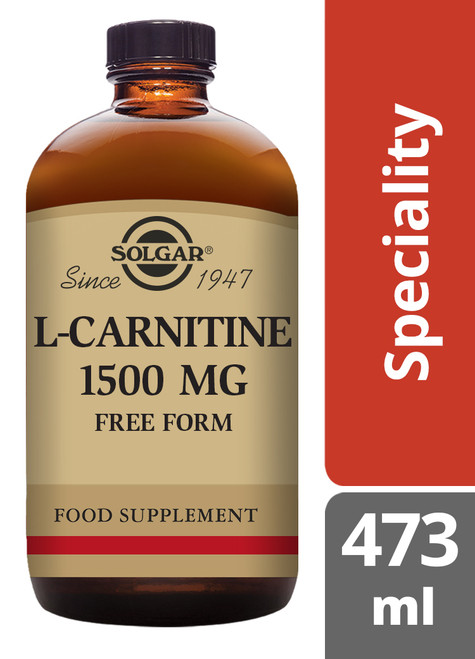 Solgar® | L-Carnitine 1500 mg Liquid - 473 ml (E30721) www.battleboxuk.com