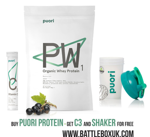 Puori PW1 Bourbon Vanilla Organic Whey Protein 900g Limited Offer
