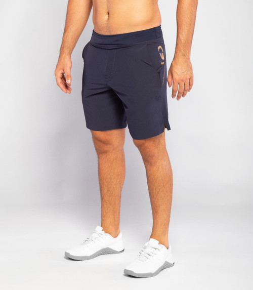 VIRUS | ST10 | MEN'S RAZR SHORT | Midnight Blue/Gold (ST143395) www.battleboxuk.com