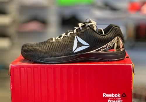 Reebok CrossFit Nano 7.0 Men Size UK 13 US 14 Black Silver Metallic CM9518 - www.BattleBoxUk.com