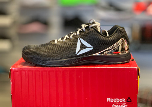 Reebok CrossFit Nano 7.0 Men Size UK 13 US 14 Black Silver Metallic CM9518 - www.BattleBoxUk.com