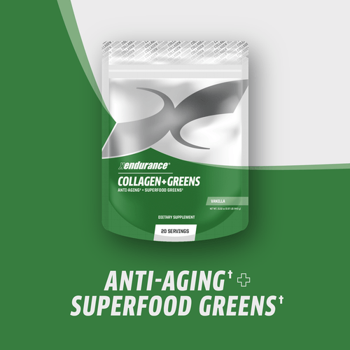 XENDURANCE COLLAGEN + GREENS | SUPPERFOODS | VANILLA | 20 SERVINGS www.battleboxuk.com
