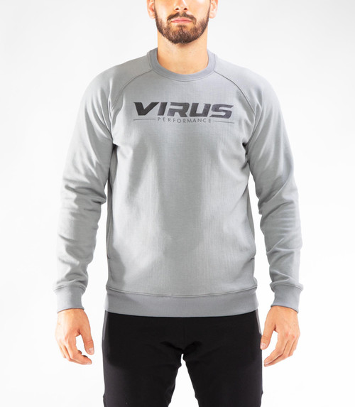 VIRUS | ST18 | FLEECE VP CREW NECK SWEATER WWW.BATTLEBOXUK.COM