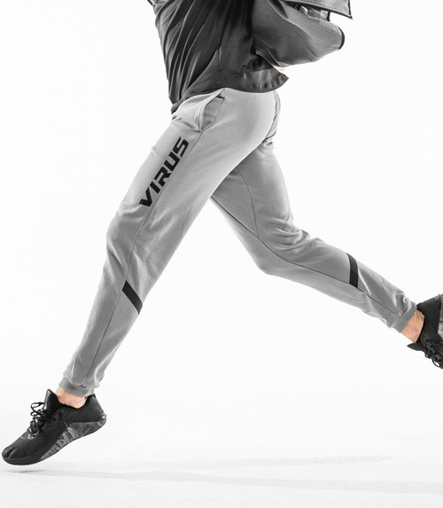VIRUS | ST28 | MAGMA FLEECE PANT | GREY WWW.BATTLEBOXUK.COM