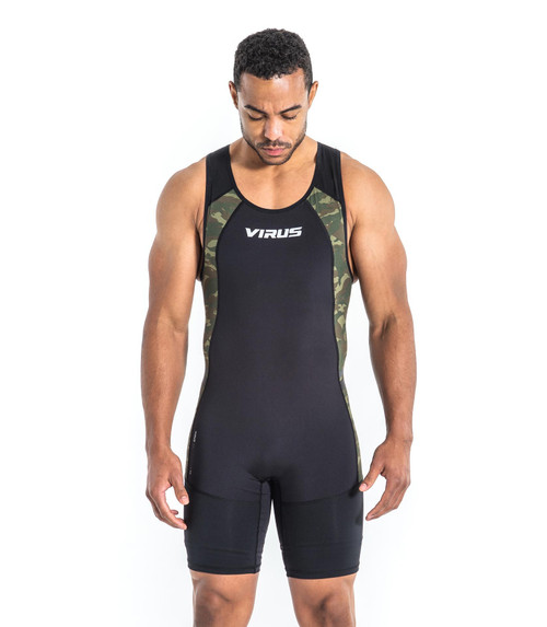 VIRUS | Au95 | Bioceramic™ ELEVATE III Weightlifting Singlet  WWW.BATTLEBOXUK.COM