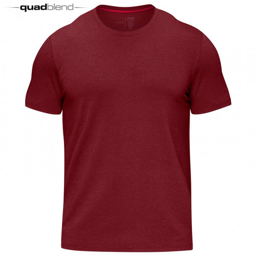 HYLETE icon II quad-blend crew Red- www.BattleBoxUk.com