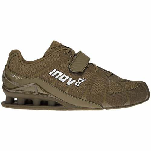 INOV8 | FASTLIFT360 | Khaki Weightlifting Shoes - www.BattleBoxUk.com