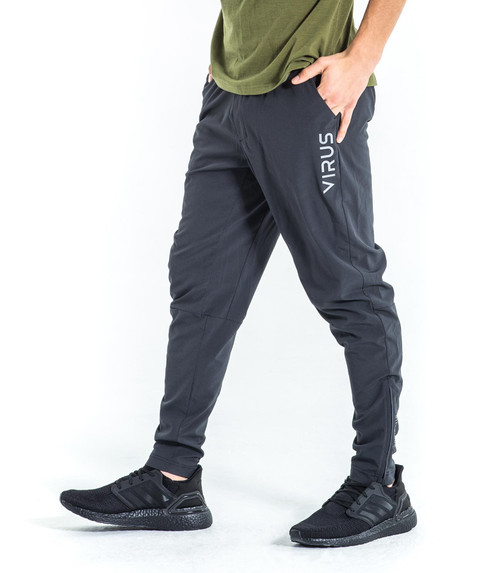 Virus | Men Blackburn Pant | Coal/Silver www.battleboxuk.com