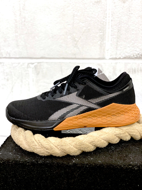 REEBOK NANO 9.0 MEN CROSSFIT FITNESS & TRAINING SHOES BLACK / TRUE GREY 7 / REEBOK RUBBER GUM-03 (EG4422) www.battleboxuk.com