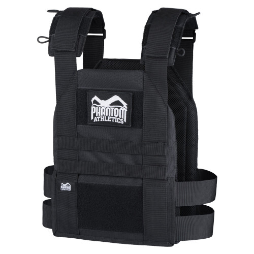 Phantom Athletic | TACTICAL Weighted Training Vest Black - www.BattleBoxUk.com