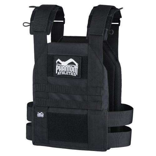 Phantom Athletic | TACTICAL Weighted Training Vest Black - www.BattleBoxUk.com