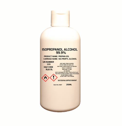 Isopropyl Alcohol IPA 99.9% Pure 250ml Isopropanol Rubbing UK Stock  - www. BattleBoxUK.com