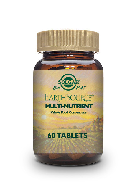 Solgar | Earth Source ® Multi-Nutrient Tablets - Pack of 60 www.battleboxuk.com