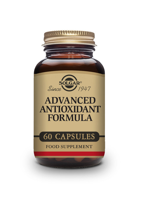 Solgar | Advanced Antioxidant Formula Vegetable Capsules - Pack of 60  www.battleboxuk.com