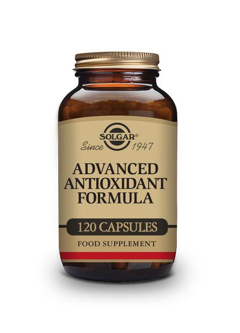 Solgar   Advanced Antioxidant Formula Vegetable Capsules - Pack of 120  www.battleboxuk.com