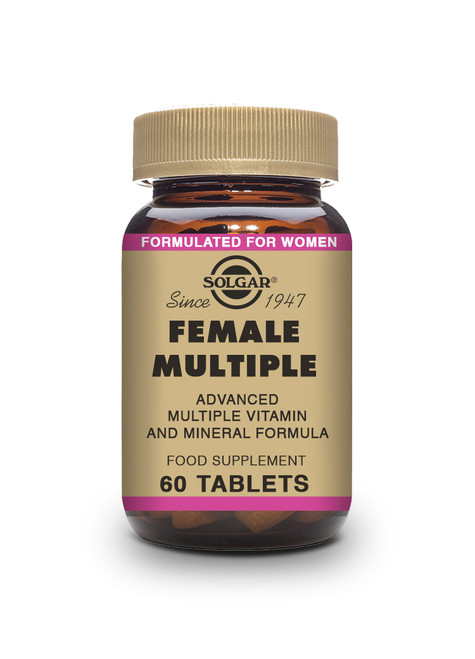 Solgar | Female Multiple Tablets | Pack of 120 - www.BattleBoxUk.com