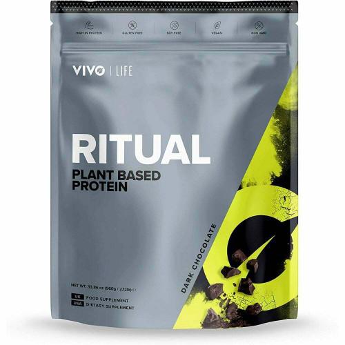 Vivo Life | Ritual | Plant based protein | 960G 30 Servings - www.BattleBoxUk.com