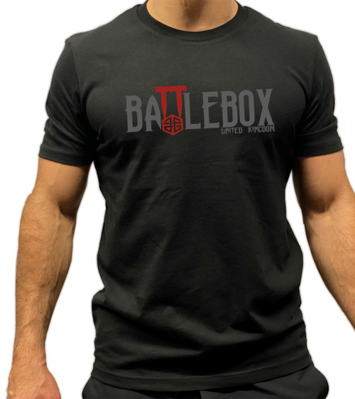 BattleBox UK™ | Haunted Box | Short Sleeve T-shirt | Black - www.BattleBoxUk.com