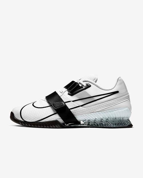 Nike Romaleos 4 White/White/Black Style: CD3463-101 www.battleboxuk.com