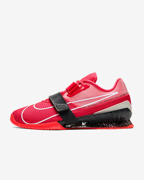 Nike Romaleos 4 Laser Crimson/Dark Smoke Grey/Spruce Aura Style: CD3463-660 www.battleboxuk.com