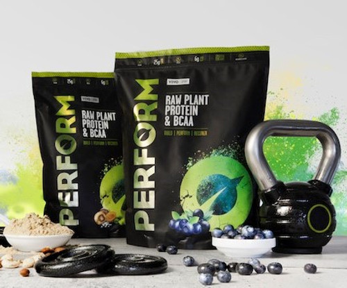 Vivo Life | PERFORM | Plant Based Protein Powder Various Flavour and Size - www.BattleBoxUk.com